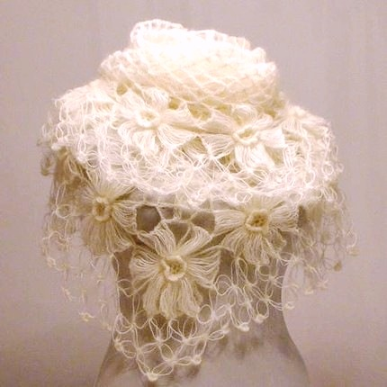 Воздушный шарф крючком